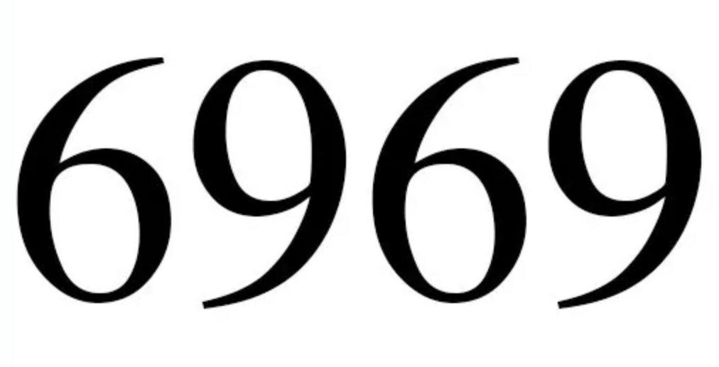 Numerologie 6969
