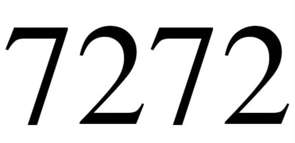 Numerologie 7272