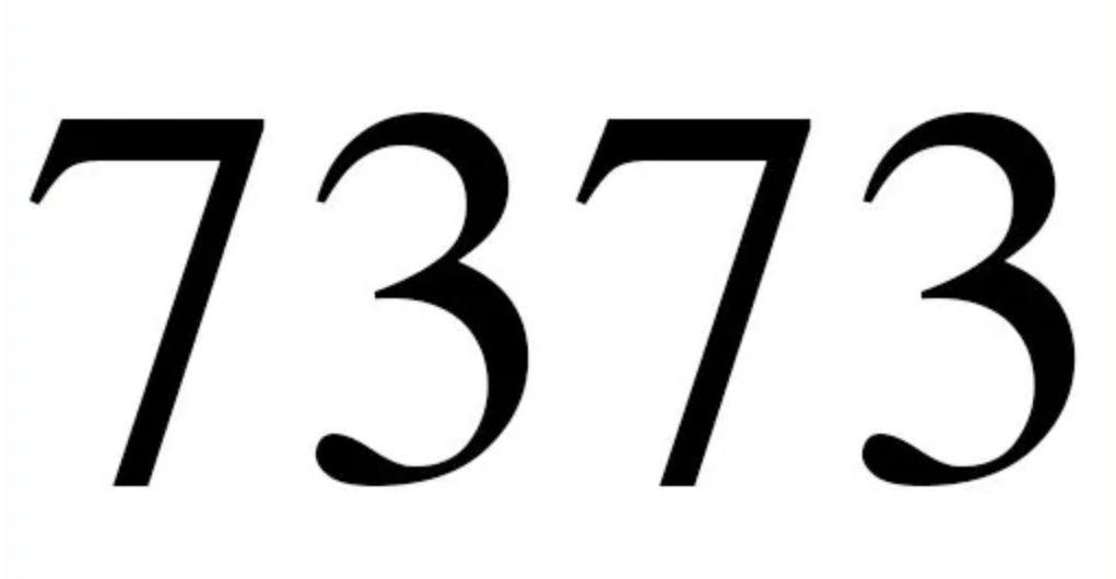 Numerologie 7373