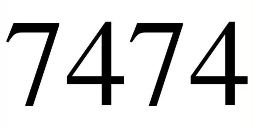 Numerologie 7474