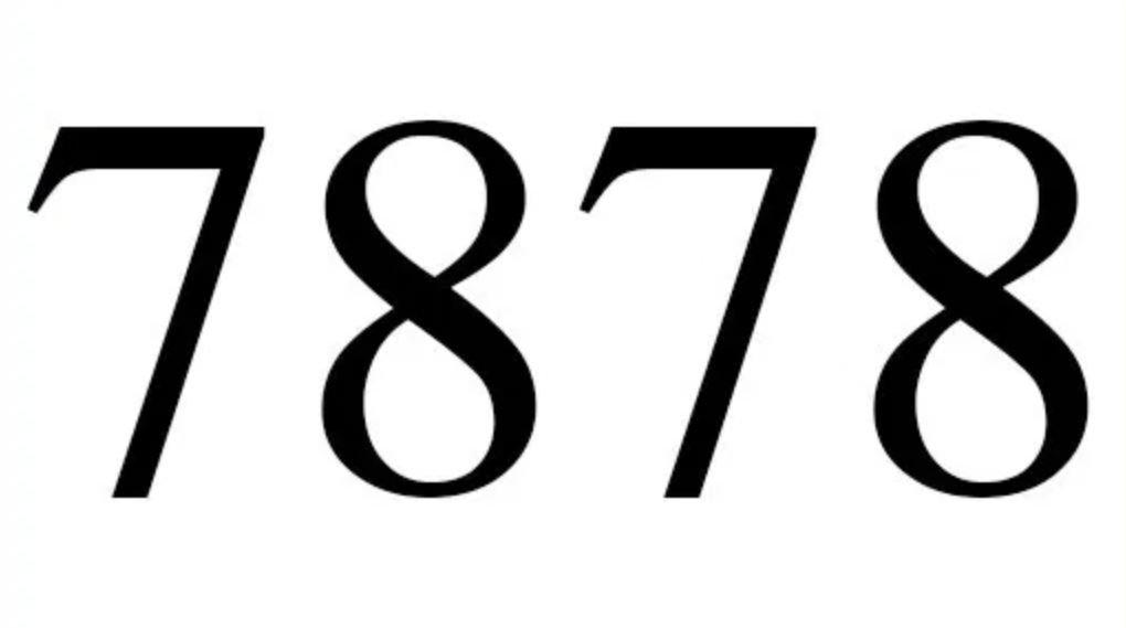 Numerologie 7878