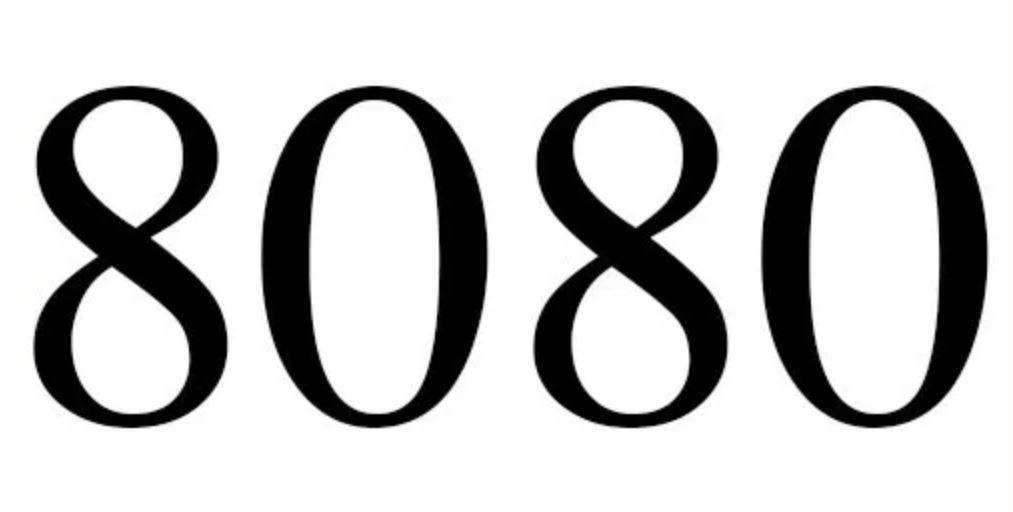 Numerologie 8080
