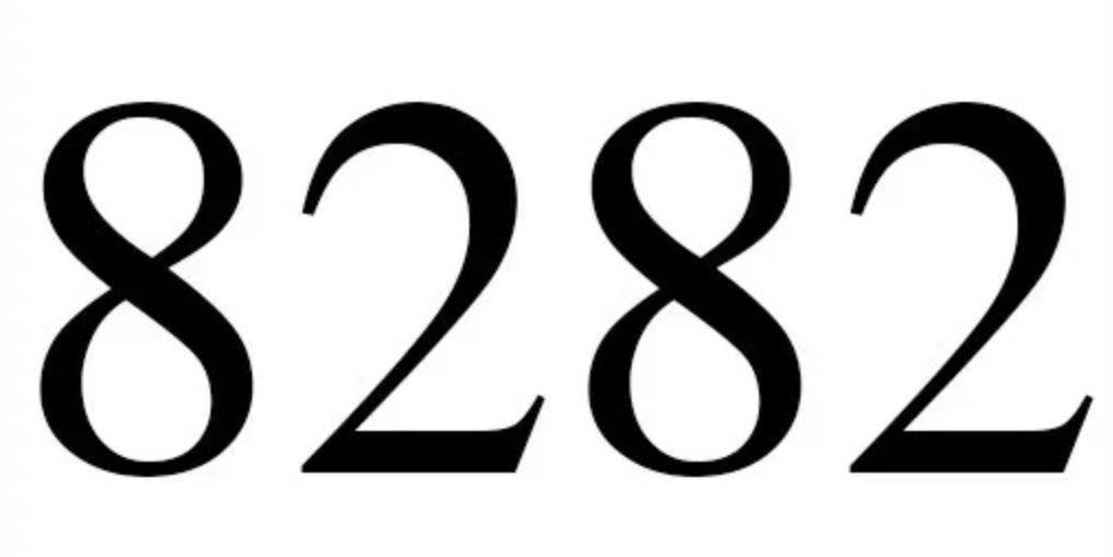 Numerologie 8282