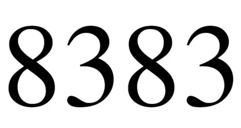 Numerologie 8383
