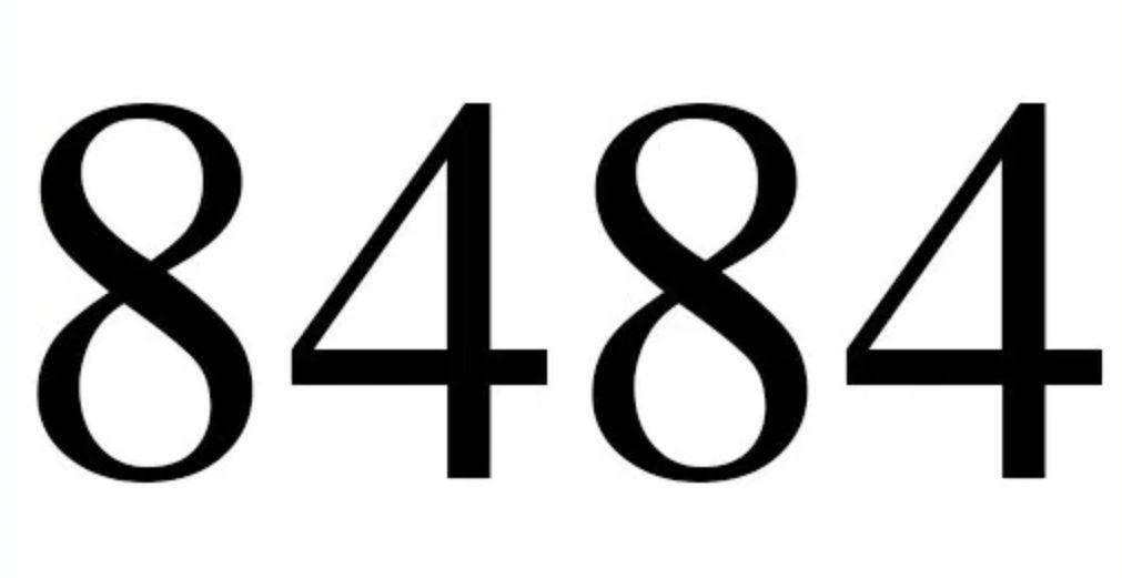 Numerologie 8484