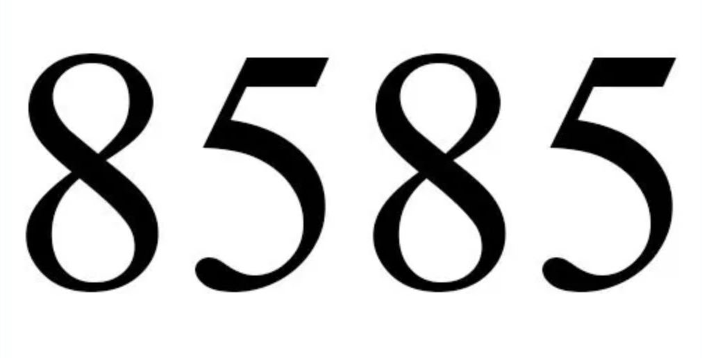 Numerologie 8585