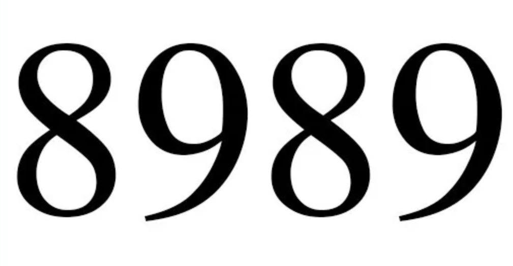 Numerologie 8989