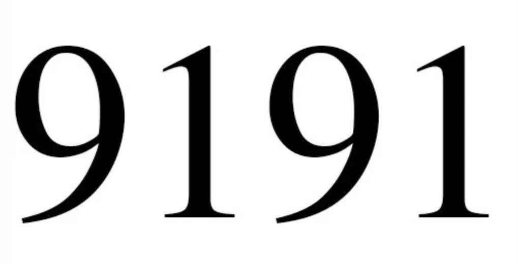Numerologie 9191