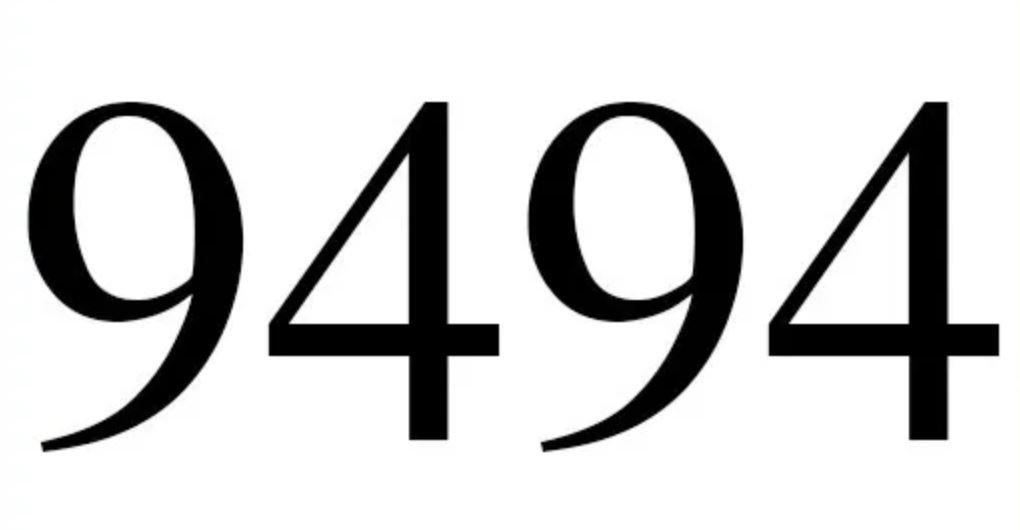 Numerologie 9494
