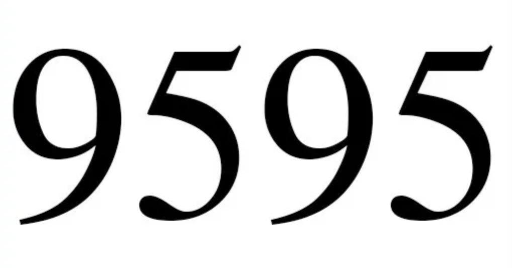 Numerologie 9595