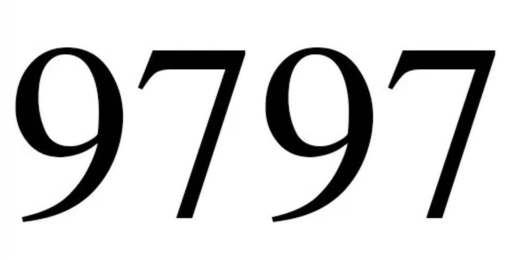 Numerologie 9797