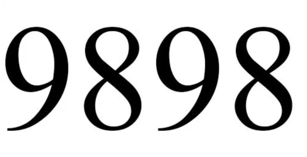 Numerologie 9898
