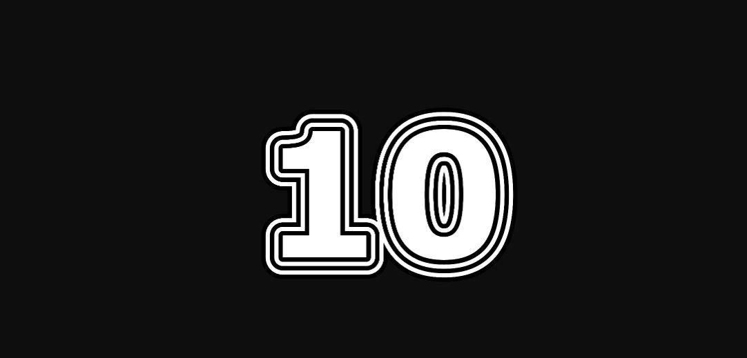 Engelengetal 10