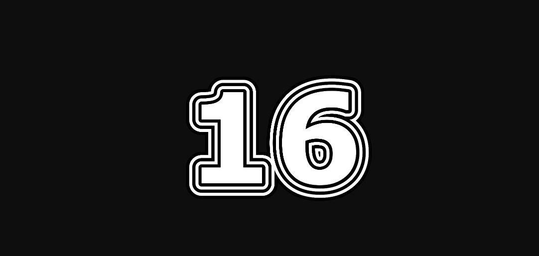 Engelengetal 16