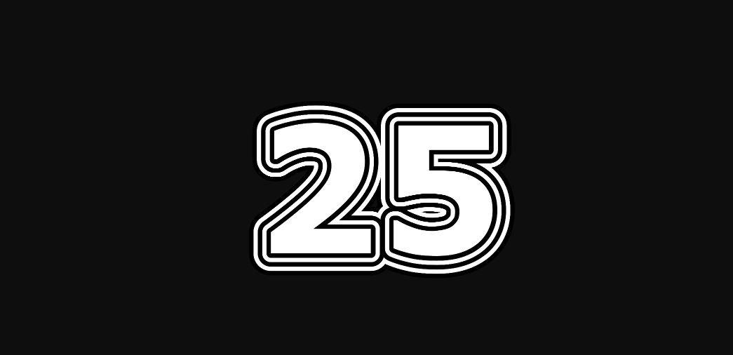 Engelengetal 25