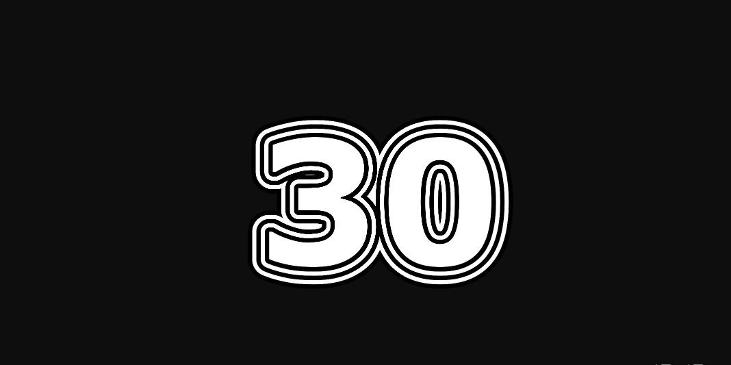 Engelengetal 30