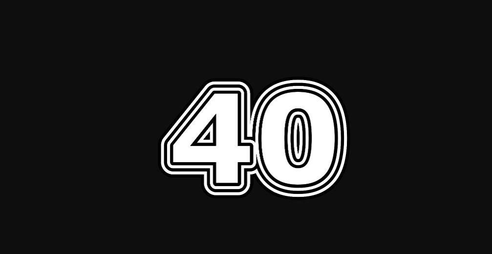 Engelengetal 40