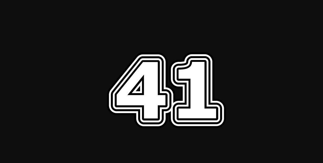Engelengetal 41