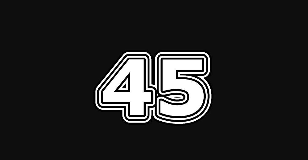 Engelengetal 45