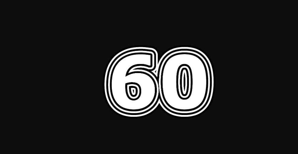 Engelengetal 60