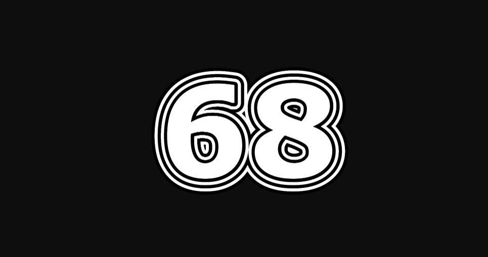 Engelengetal 68