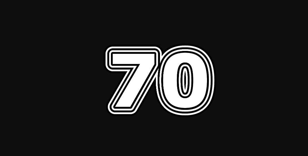 Engelengetal 70