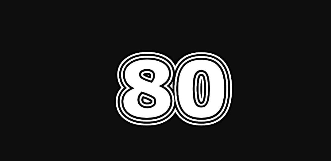 Engelengetal 80