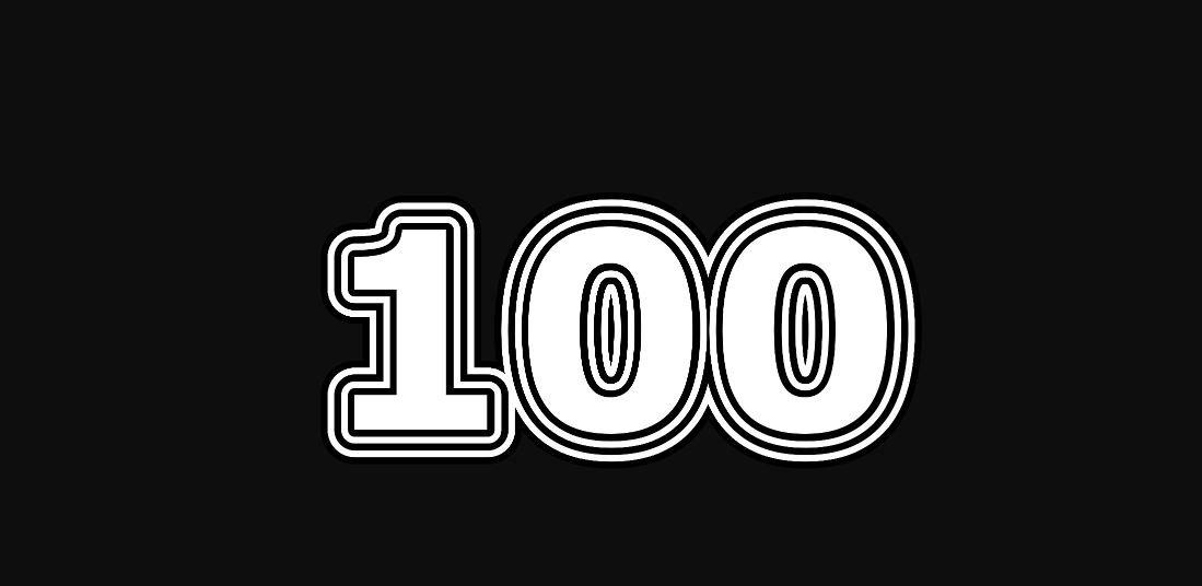 Engelengetal 100
