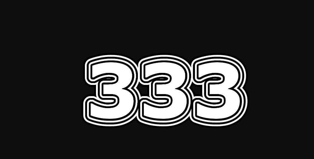 Engelengetal 333