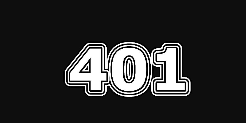 Engelengetal 401