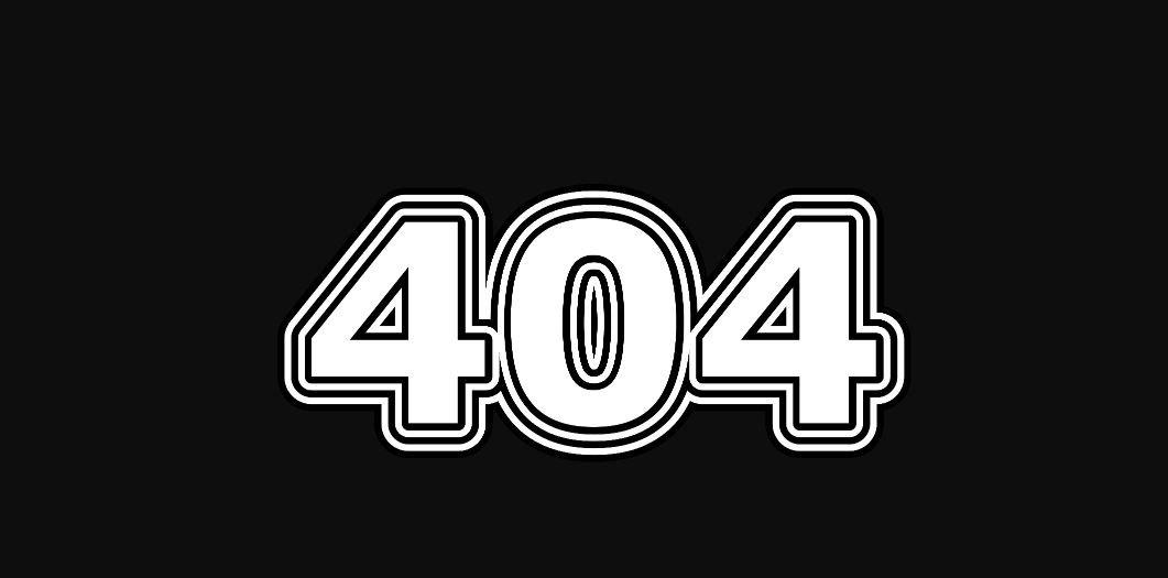 Engelengetal 404