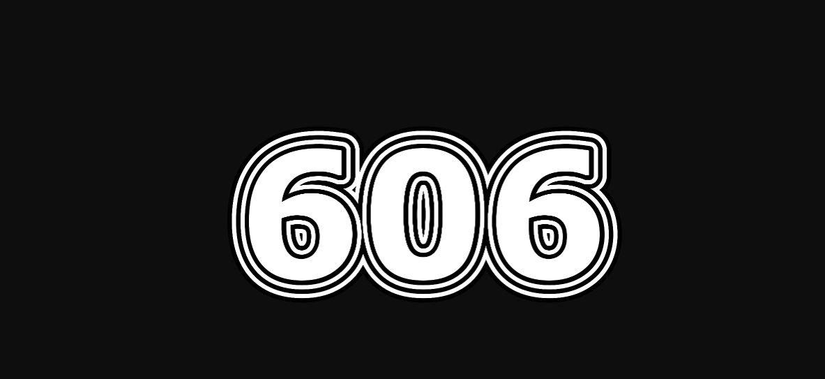 Engelengetal 606