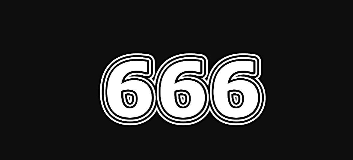 Engelengetal 666