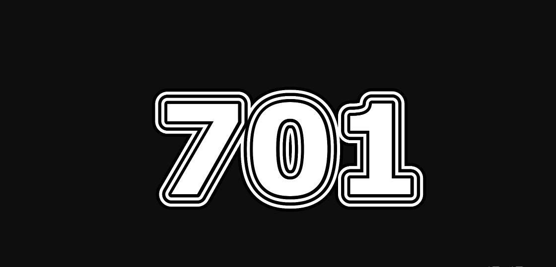 Engelengetal 701
