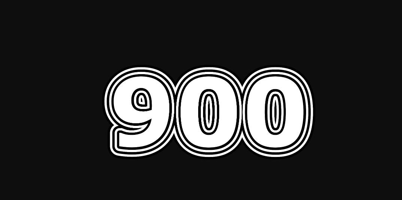 Engelengetal 900