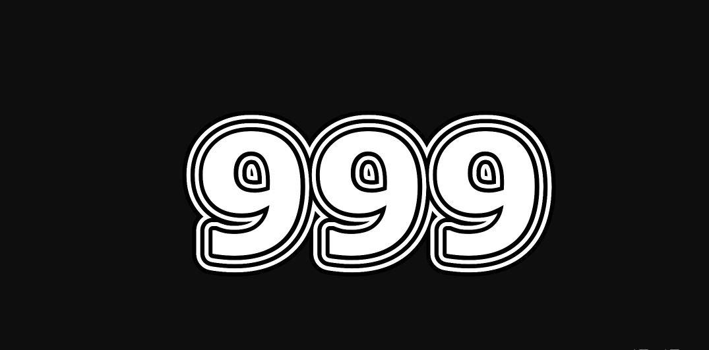 Engelengetal 999
