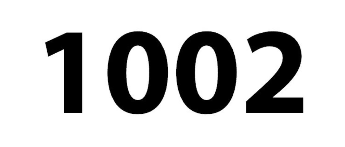 Engelengetal 1002