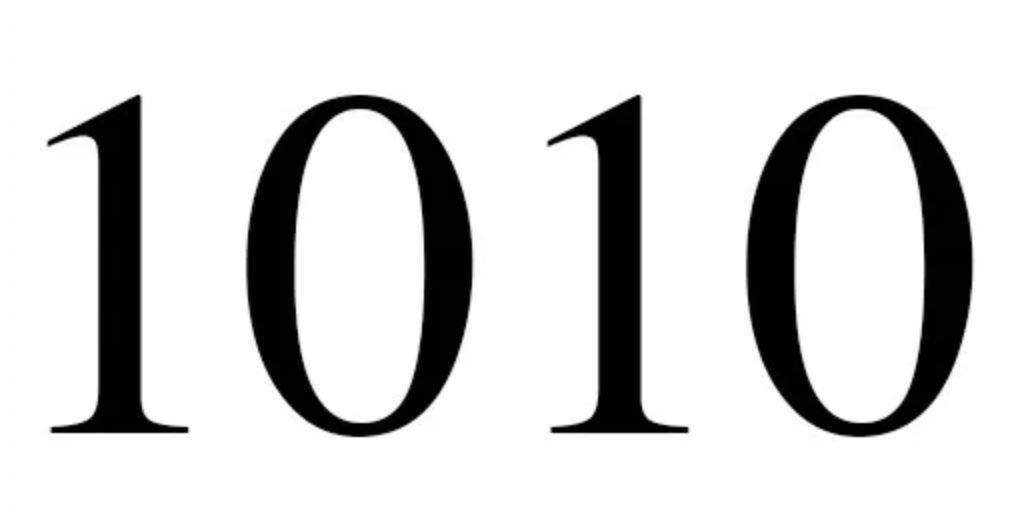 Engelengetal 1010