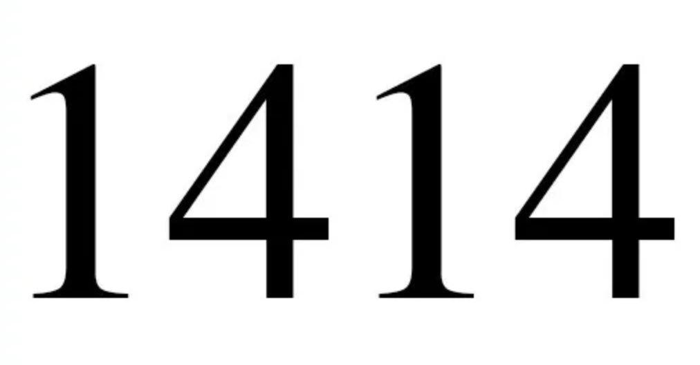 Engelengetal 1414