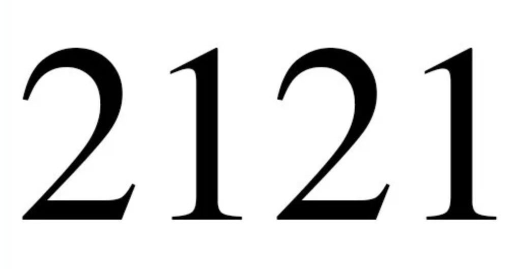Engelengetal 2121