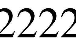 Engelengetal 2222: Dubbele getallen interpretatie en betekenis