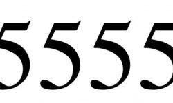 Engelengetal 5555: Dubbele getallen interpretatie en betekenis