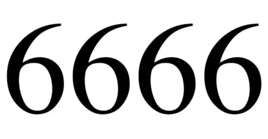 Engelengetal 6666