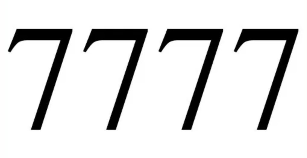Engelengetal 7777