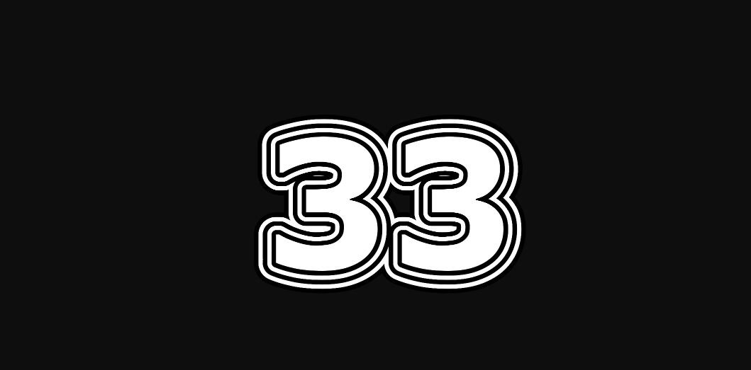 Meestergetal 33