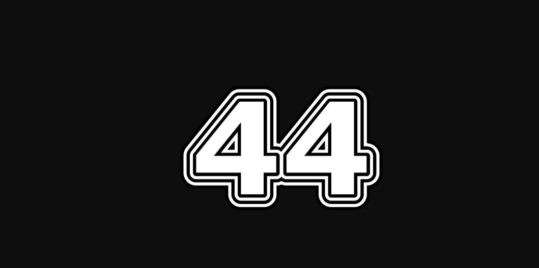 Meestergetal 44