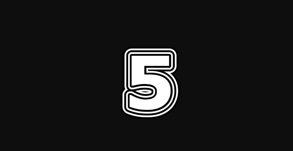 Levensgetal 5