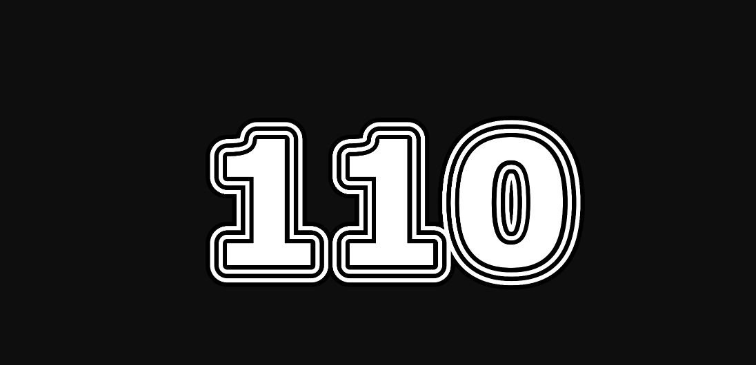 Numerologie 110