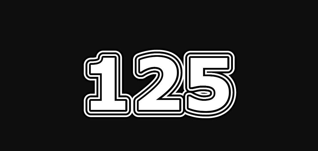 Numerologie 125