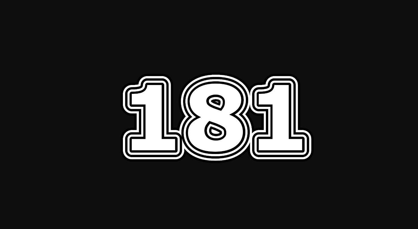 Numerologie 181